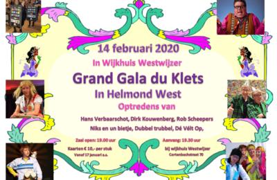 Grand Gala de Klets 14 februari 2020